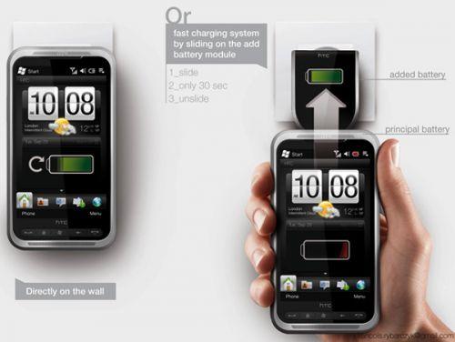 Încărcare fără fir pentru telefoanele HTC: iată cum funcționează conceptul