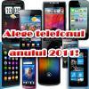 Alege cele mai bune telefoane ale anului 2011! Poți vota aici - iată favoriții!