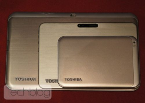 Toshiba AT330, tableta de 13 inch din spate