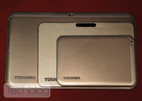 Toshiba AT330, tableta de 13 inch din spate