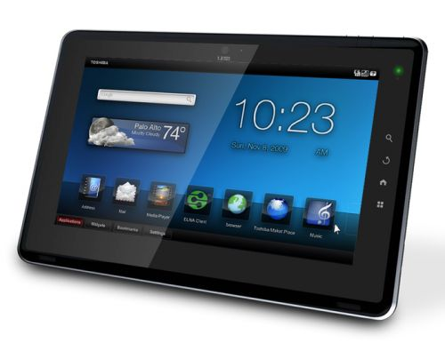 Toshiba Folio 100, inca un tablet Android 2.2 in Europa