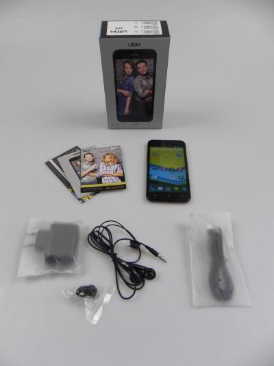 Utok 5008 unboxing: smartphone octa core accesibil, cu carcasa subțire, pachet de servicii atractiv (Video)