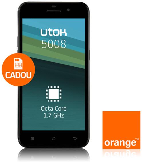 UTOK lansează cel mai accesibil smartphone octa-core din România; UTOK 5008 vine cu display HD de 5 inch și un preț de 999 lei