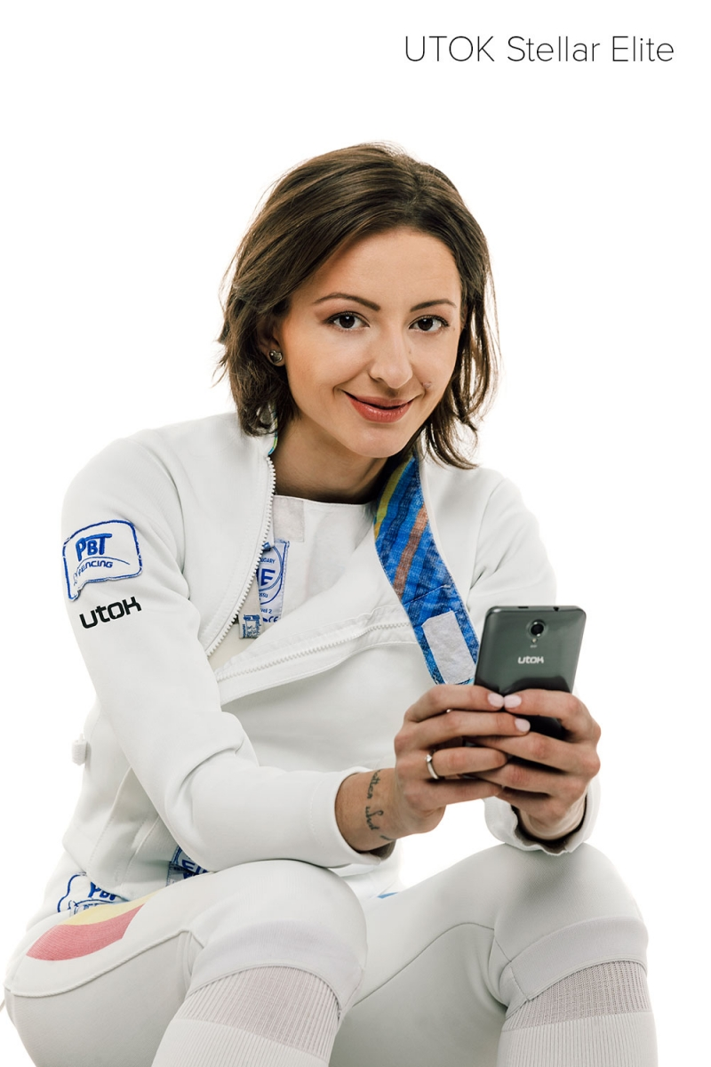 Utok a anunțat astăzi telefonul Stellar Elite, lansat sub imaginea sportivei Ana Maria Brânză
