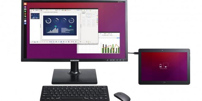 Tableta Ubuntu BQ Aquaris M10 anunţată oficial; Ea poate fi folosită şi ca desktop PC, va fi pusă în vânzare în martie