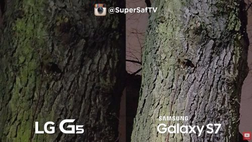 LG G5 versus Samsung Galaxy S7
