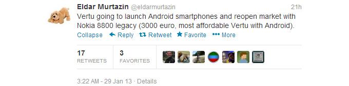 Telefonul Vertu cu Android sosește În februarie, pregătiți-vă miile de euro!