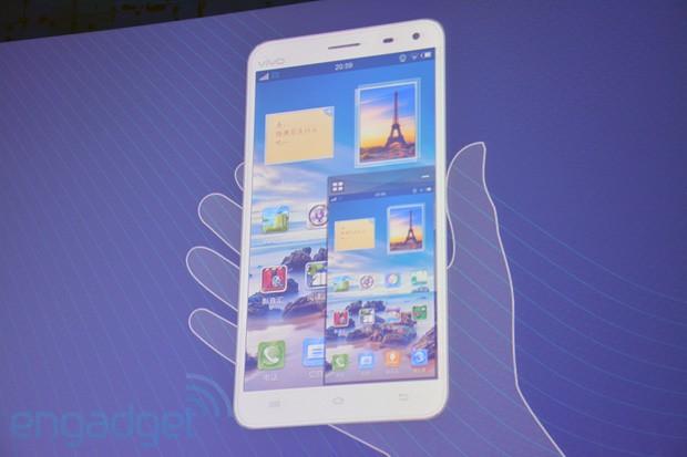 Vivo Xplay, un terminal quad core cu ecran Full HD de 5.7 inch, chipuri audio, utilizare single hand