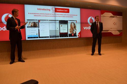 Vodafone lansează tehnologia VoLTE și demonstrează funcția avansată de apelare numită Call+