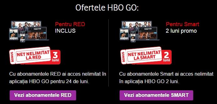 HBO GO prin Vodafone