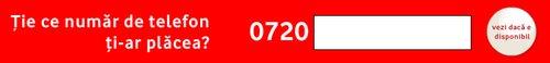 Vodafone iti permite acum sa-ti alegi un numar de telefon personalizat