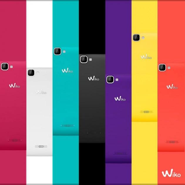 Wiko, producător de telefoane din Franța anunțat un smartphone Android colorat, cu preț accesibil