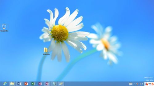 Windows RT mod desktop clasic.