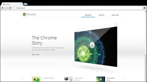 Search și Chrome pe Windows 8