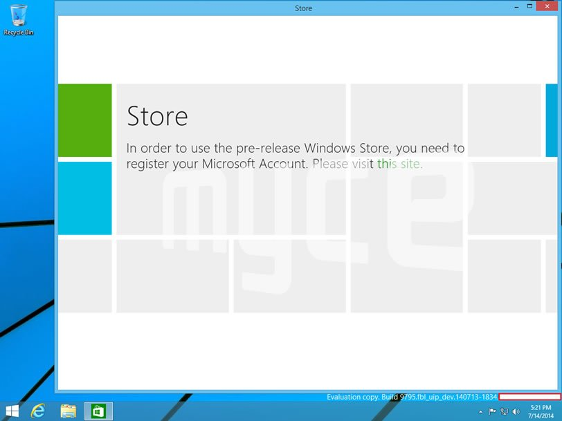 Windows Build 9795 (Threshold) Își face apariția În noi capturi de ecran ce prezintă din nou meniul Start cu widget-uri În stil Modern UI