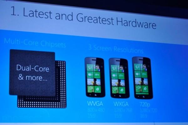 Windows Phone 8 procesoare dual core