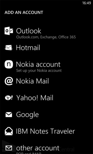 nokia amber accounts