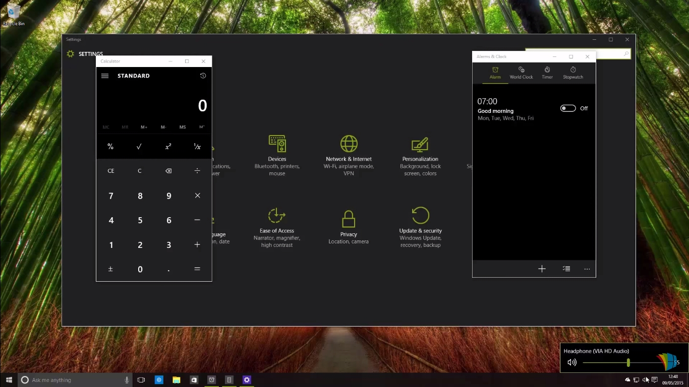 Windows 10 Build 10114 aduce modificări la meniul Start și tema Dark pentru aplicații
