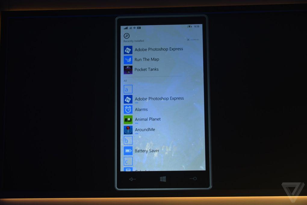 Windows 10 pentru telefoane