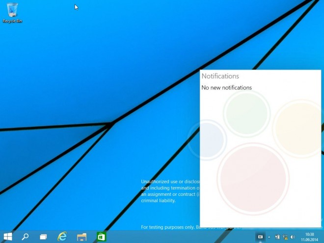 Funcționalitatea meniului Start din Windows 9 prezentată În cadrul unui clip video