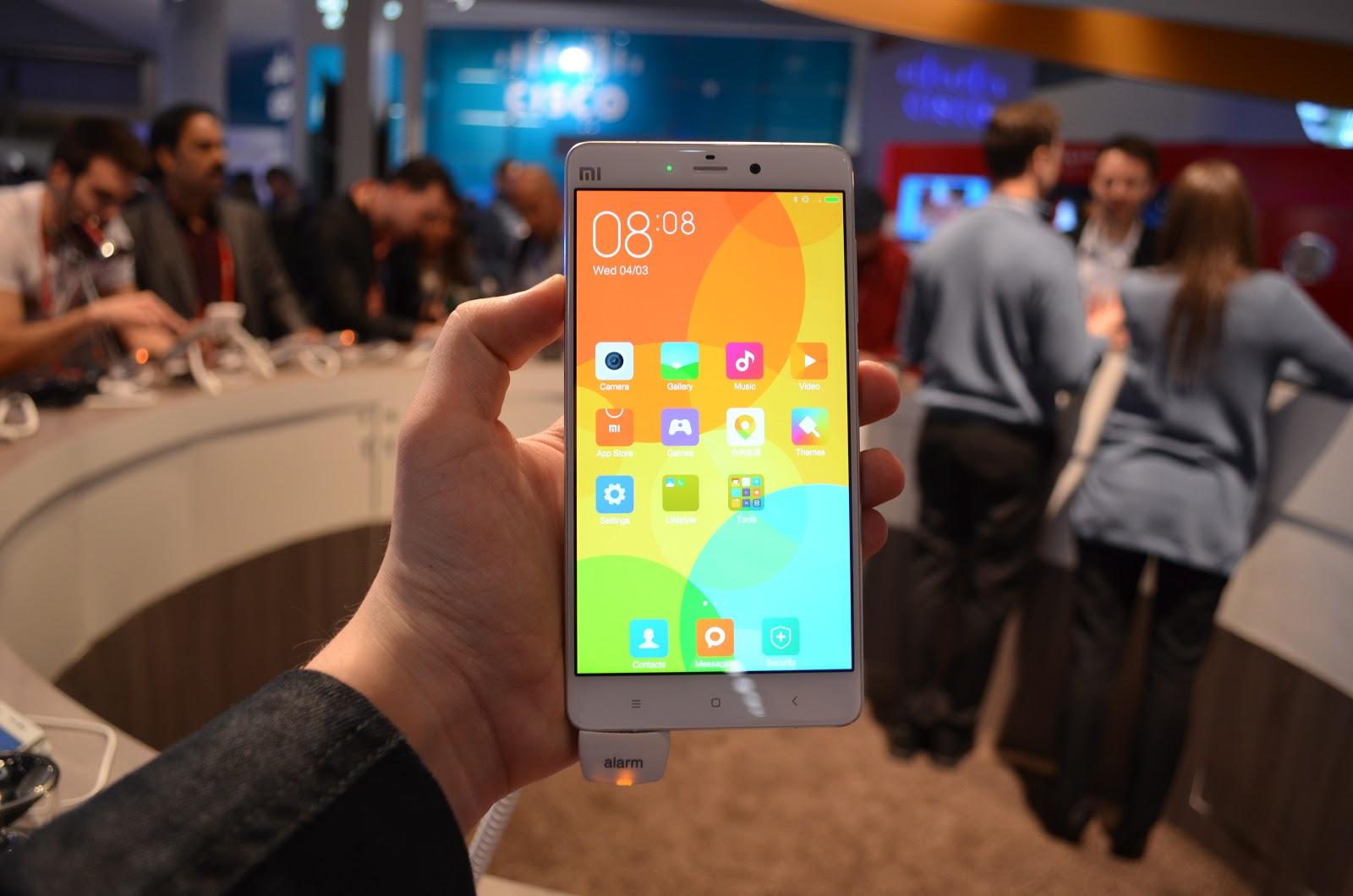 Xiaomi Mi Note Pro va fi disponibil comercial în China începând cu 31 martie la un preț de 520$