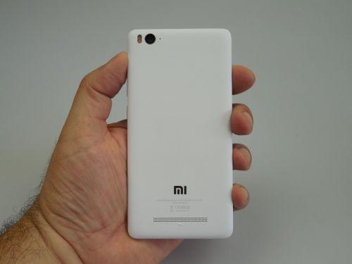 Xiaomi Mi 4i privit din spate