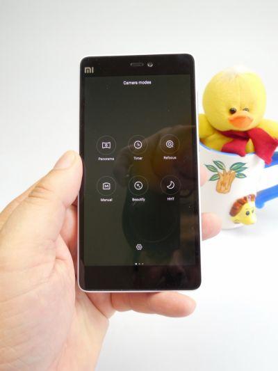 Optiuni camera Xiaomi Mi 4i