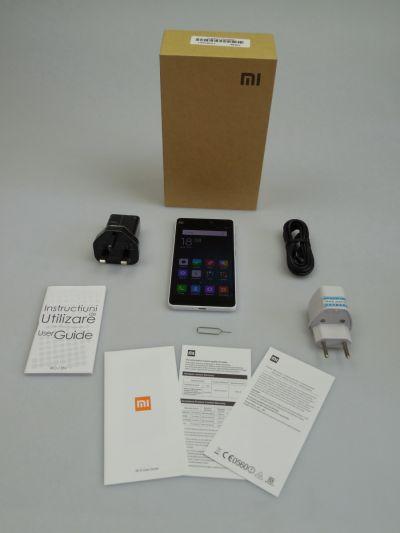 Continutul cutiei lui Xiaomi Mi 4i