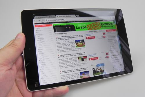 Xiaomi Mi Pad review Mobilissimo.ro
