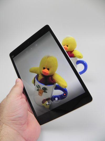 Camera lui Xiaomi Mi Pad