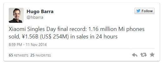 Xiaomi vinde 1.16 milioane de smartphone-uri cu ocazia evenimentului Black Friday asiatic