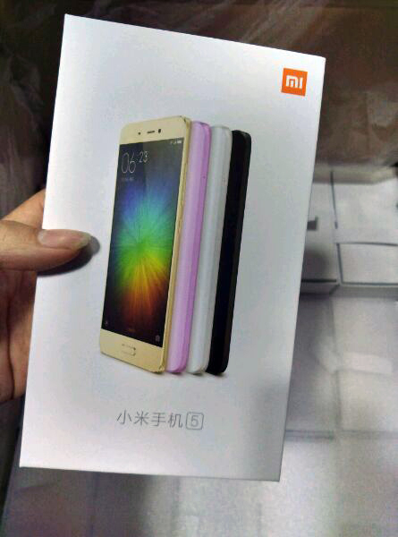 Xiaomi Mi 5 îşi dezvăluie variantele de culoare prin ambalajul său oficial, ce apare în imagini noi