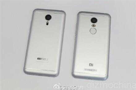 Xiaomi Redmi Note 2 este fotografiat din nou; vine cu scanner de amprente și design ce amintește de Meizu MX4