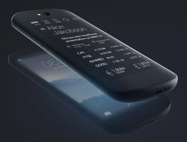 MWC 2014: rușii de la YotaPhone prezintă a doua generație de telefon, cu ecran dual