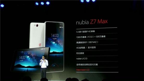 ZTE Nubia Z7 Max