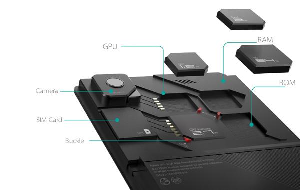 Încă un proiect de telefon modular; Tu pui RAM-ul, memoria, camera și altele pe ZTE Eco Mobius