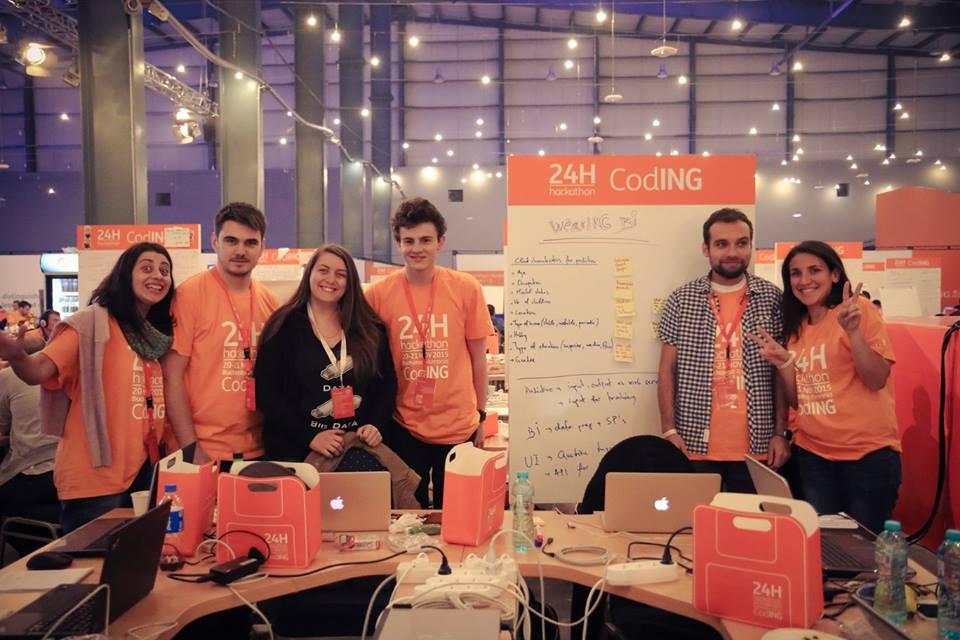 ING Bank desemnează câștigătorii hackathon-ului internațional +24HCodING; echipa clasată pe primul loc va călători spre Silicon Valley