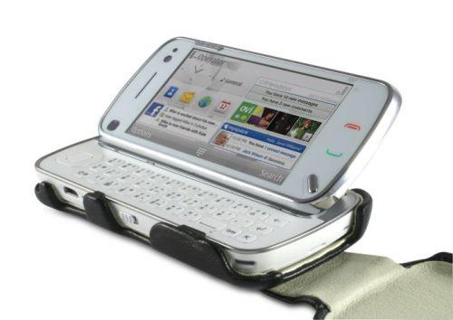 Husa din piele pentru Nokia N97