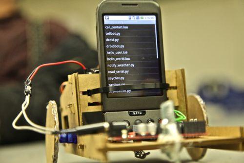 Robot controlat de Android