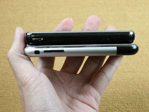 Samsung Omnia versus iPhone