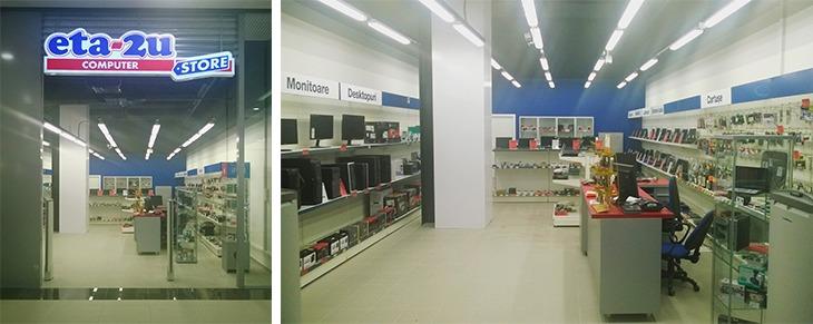 ETA2U deschide un nou magazin în cadrul complexului comercial Shopping City din Timișoara; retailer axat pe comercializarea de produse și servicii IT