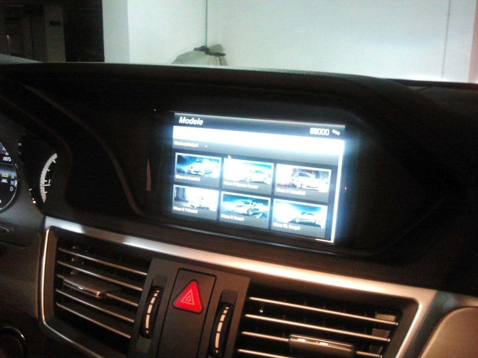 Mercedes-Benz România aduce versiunile site-ului său pentru smartphone și pentru sistemul multimedia