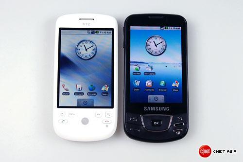 Samsung i7500 versus HTC Magic
