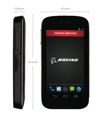 Boeing dezvăluie smartphone-ul Android ce poate șterge automat toate datele stocate; soluția perfectă pentru agențiile guvernamentale de securitate