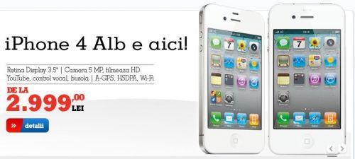 Pret iPhone Alb la liber