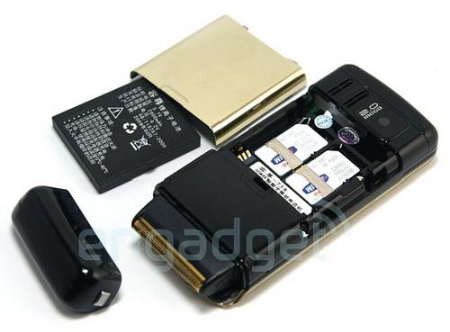 Telefonul aparat de barbierit Cool758, un dual SIM taios