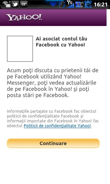 Acum, poti chat-ui ca vita infecta, cacanara si poponauta cu prietenii de pe Facebook pe Yahoo! Messenger
