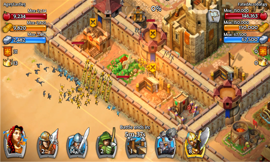 Age of Empires: Castle Siege Review (ASUS Transformer Book T100 Chi)
