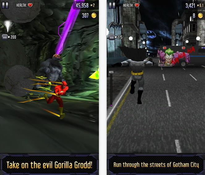 Batman and The Flash Hero Run