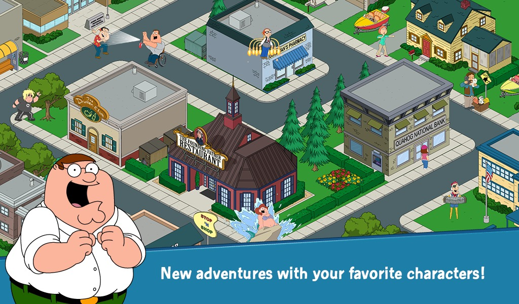 Family Guy Quest for Stuff Review (Allview Viva D8): umor vulgar, bogăție de conținuturi, dar un joc plin de buguri și cash cow (Video)